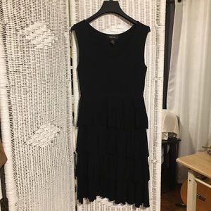 Style&Co. Little Black Layered Dress